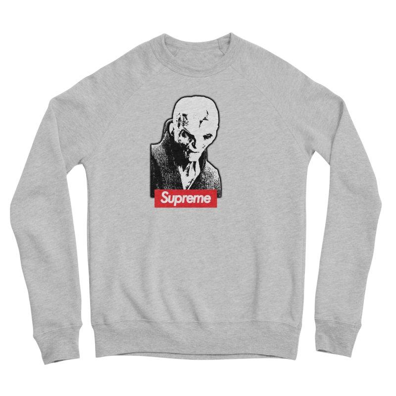Supreme Leader Men's Sponge Fleece Sweatshirt by Not Bad Tees