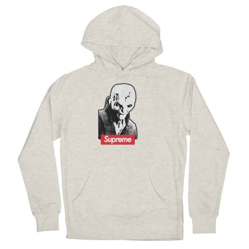 Supreme Leader Women's French Terry Pullover Hoody by Not Bad Tees