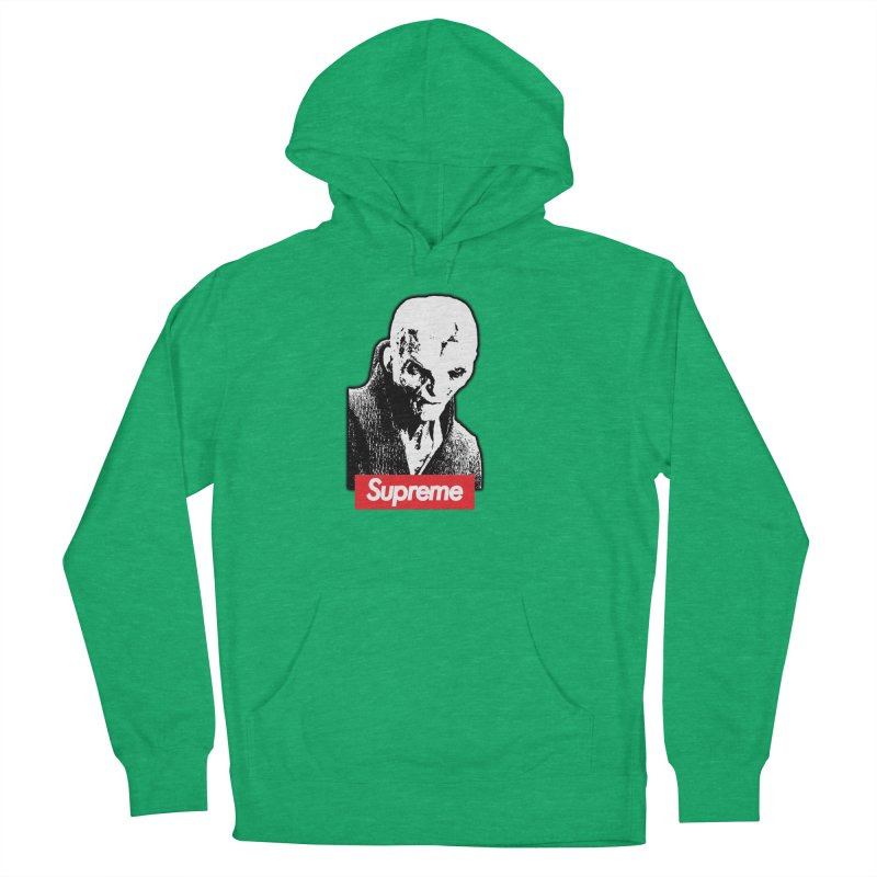 Supreme Leader Men's French Terry Pullover Hoody by Not Bad Tees