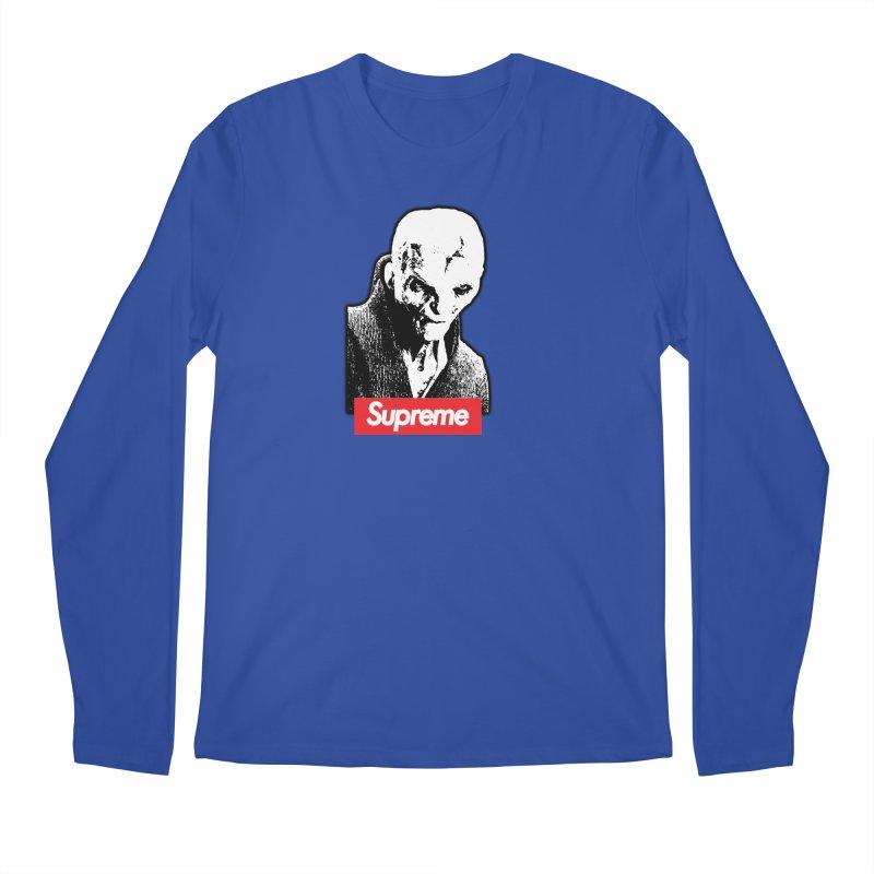 Supreme Leader Men's Regular Longsleeve T-Shirt by Not Bad Tees