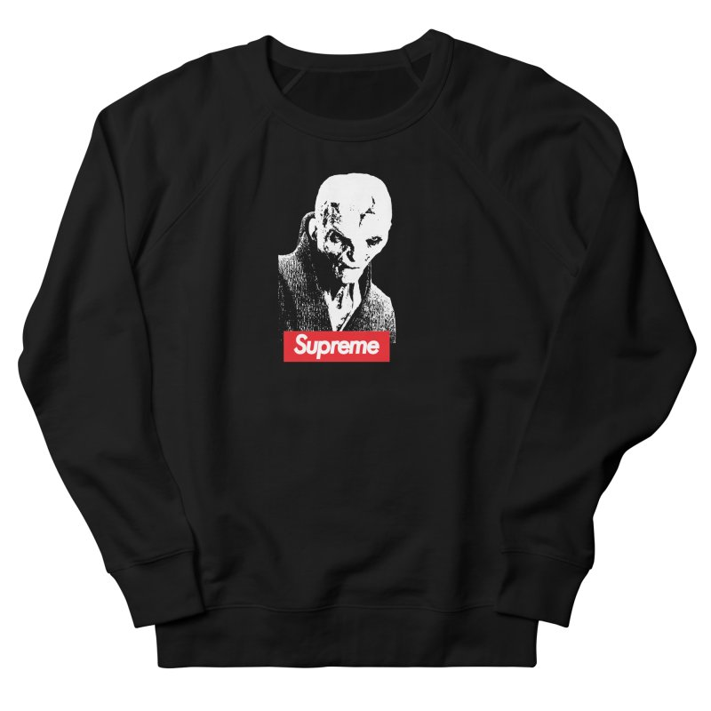 Supreme Leader Women's French Terry Sweatshirt by Not Bad Tees