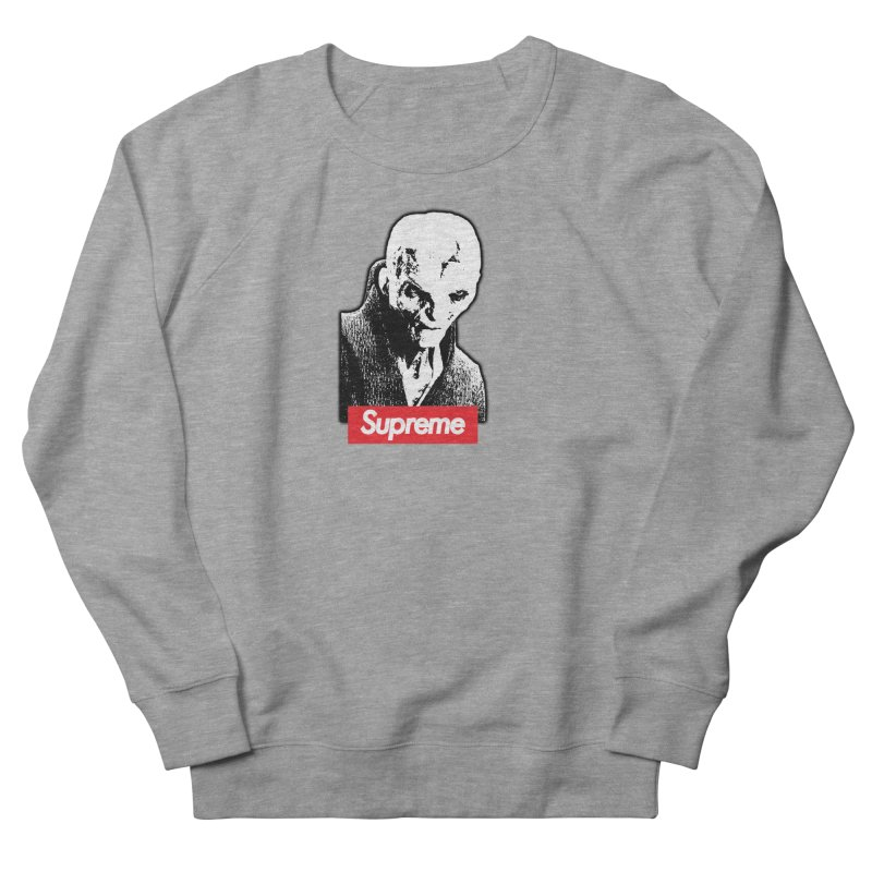 Supreme Leader Men's French Terry Sweatshirt by Not Bad Tees