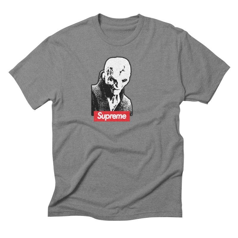 Supreme Leader Men's Triblend T-Shirt by Not Bad Tees