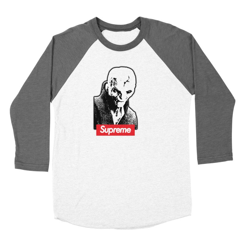 Supreme Leader Women's Baseball Triblend Longsleeve T-Shirt by Not Bad Tees