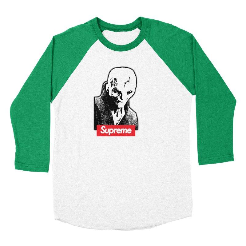 Supreme Leader Men's Baseball Triblend Longsleeve T-Shirt by Not Bad Tees