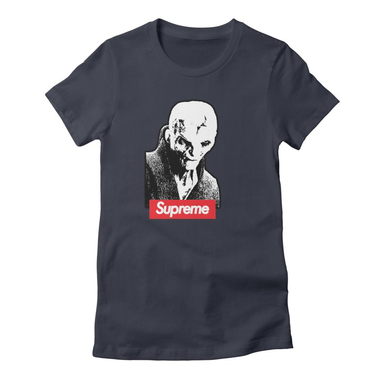 Supreme Leader Women's Fitted T-Shirt by Not Bad Tees