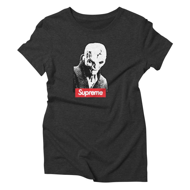 Supreme Leader Women's Triblend T-Shirt by Not Bad Tees