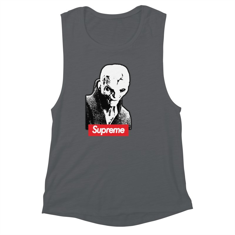 Supreme Leader Women's Muscle Tank by Not Bad Tees
