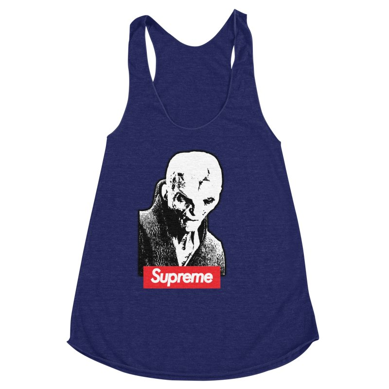 Supreme Leader Women's Racerback Triblend Tank by Not Bad Tees