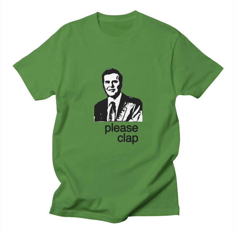 Please Clap Men's Regular T-Shirt by Not Bad Tees