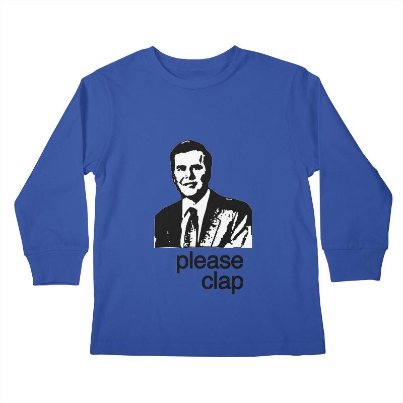 Please Clap Kids Longsleeve T-Shirt by Not Bad Tees