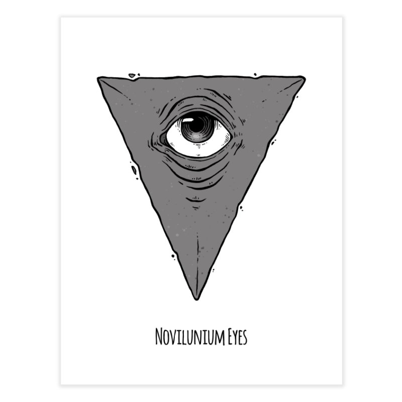 Triangle Eye Home Fine Art Print by NoviluniumEyes's Artist Shop
