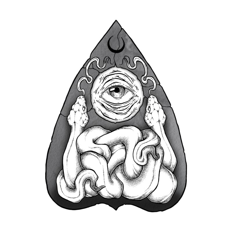 Planchette Ouija None  by NoviluniumEyes's Artist Shop