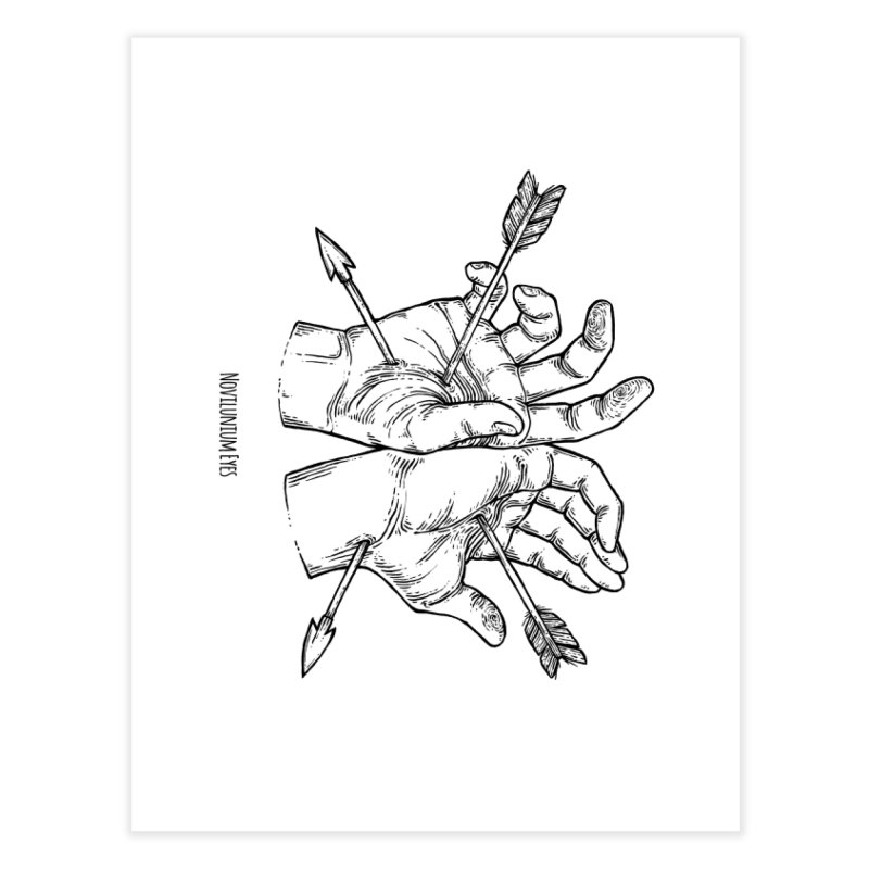 Joined Hands Home Fine Art Print by NoviluniumEyes's Artist Shop