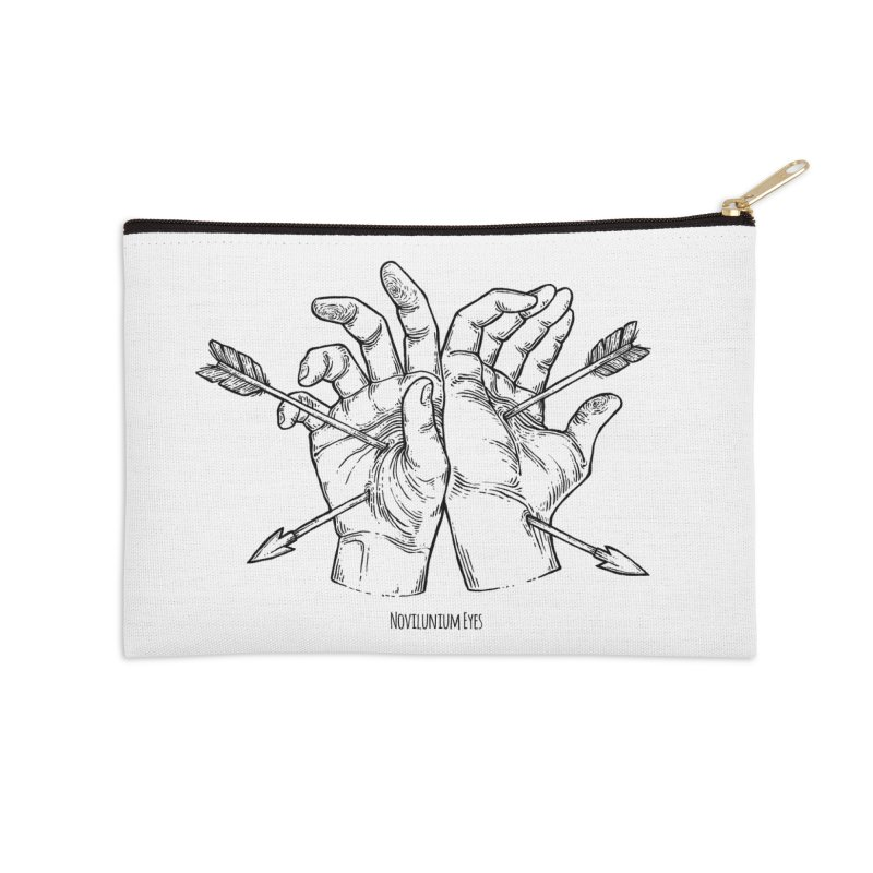 Joined Hands Accessories Zip Pouch by NoviluniumEyes's Artist Shop