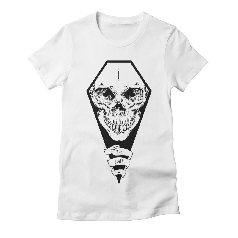 The Death Women's Fitted T-Shirt by NoviluniumEyes's Artist Shop