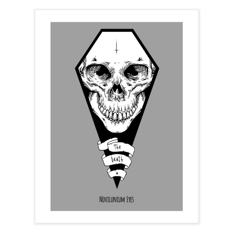 The Death Home Fine Art Print by NoviluniumEyes's Artist Shop