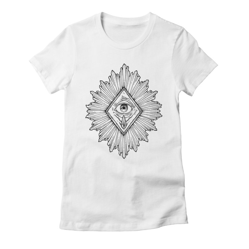 Ex Voto Women's Fitted T-Shirt by NoviluniumEyes's Artist Shop