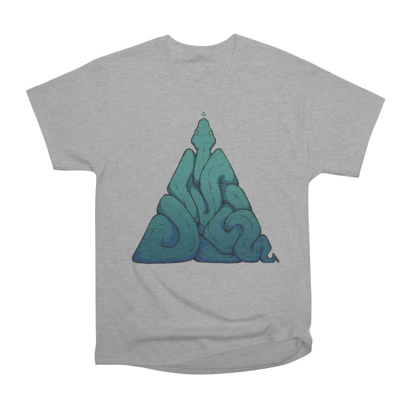 Snake Shape Triangle Women's Classic Unisex T-Shirt by NoviluniumEyes's Artist Shop