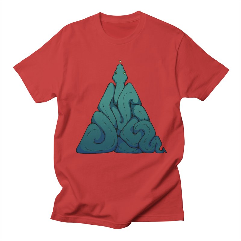 Snake Shape Triangle Women's Unisex T-Shirt by NoviluniumEyes's Artist Shop