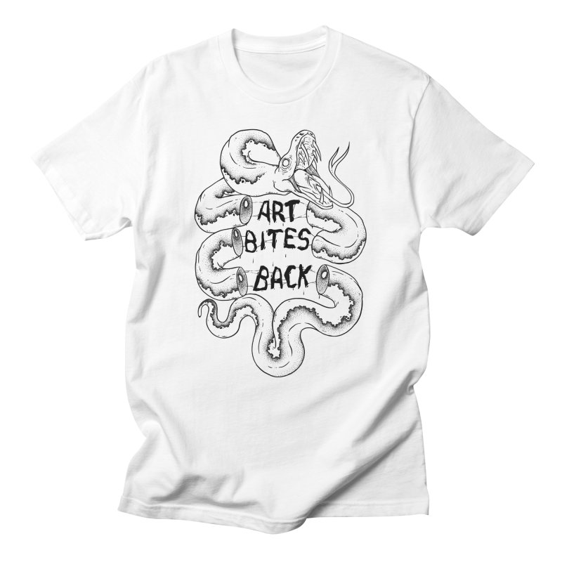 Art Bites Back Women's Unisex T-Shirt by NoviluniumEyes's Artist Shop