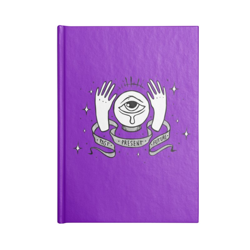 Past Present Future Accessories Notebook by NoviluniumEyes's Artist Shop