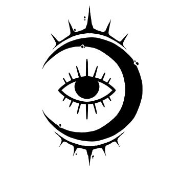 Novilunium Eyes  Logo
