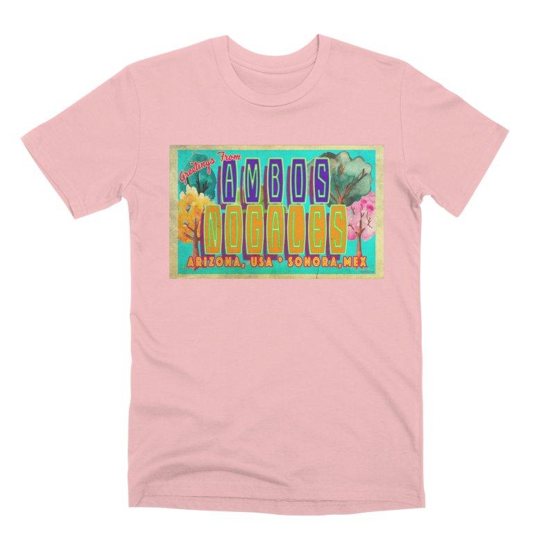 Ambos Nogales Trees Men's Premium T-Shirt by Nuttshaw Studios