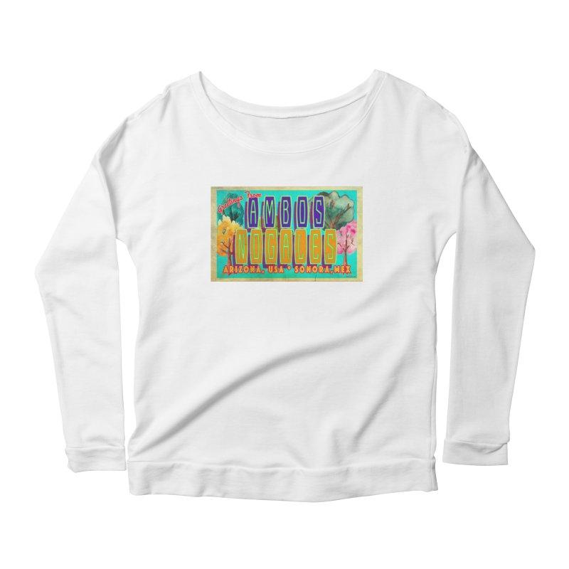 Ambos Nogales Trees Women's Longsleeve T-Shirt by Nuttshaw Studios