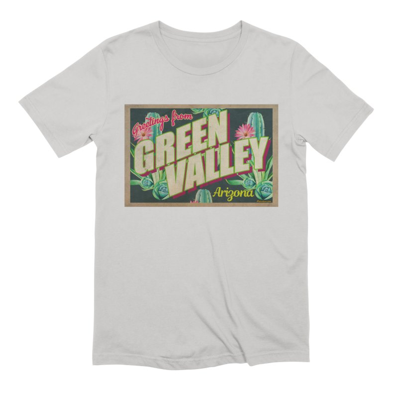 Green Valley, Arizona Men's Extra Soft T-Shirt by Nuttshaw Studios