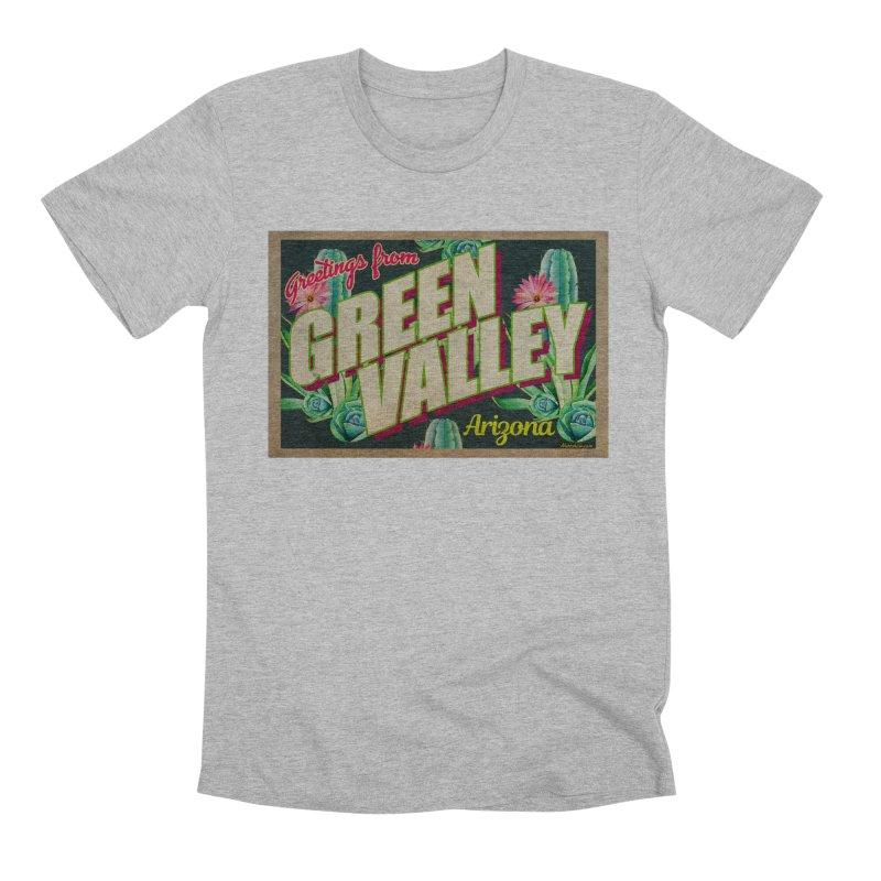Green Valley, Arizona Men's Premium T-Shirt by Nuttshaw Studios