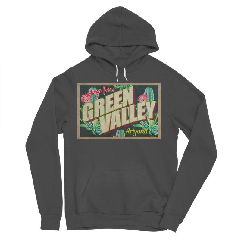 Green Valley, Arizona Women's Sponge Fleece Pullover Hoody by Nuttshaw Studios