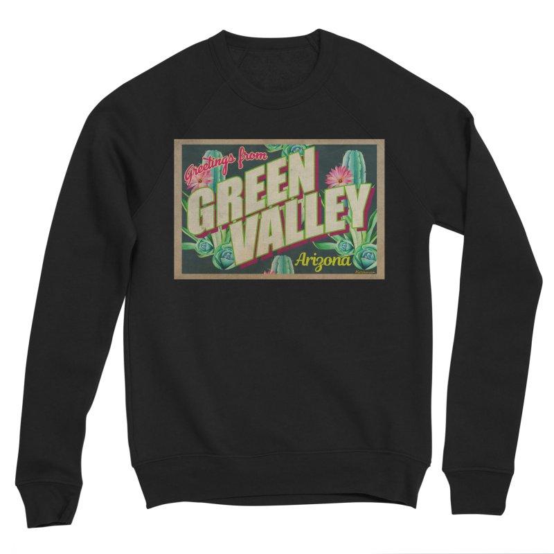 Green Valley, Arizona Men's Sponge Fleece Sweatshirt by Nuttshaw Studios