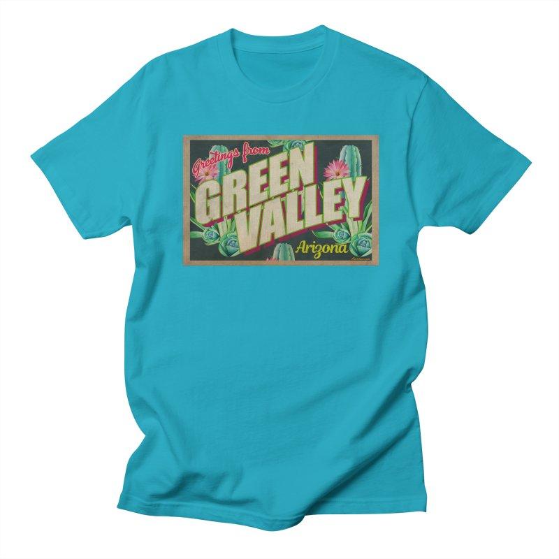Green Valley, Arizona Women's Regular Unisex T-Shirt by Nuttshaw Studios