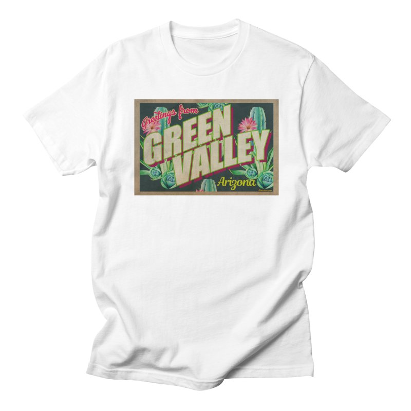 Green Valley, Arizona Women's Regular Unisex T-Shirt by Nuttshaw Studios