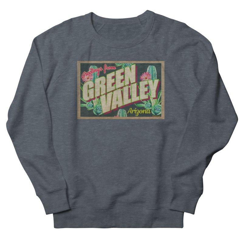 Green Valley, Arizona Men's Sweatshirt by Nuttshaw Studios