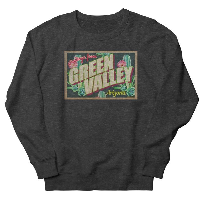 Green Valley, Arizona Men's French Terry Sweatshirt by Nuttshaw Studios