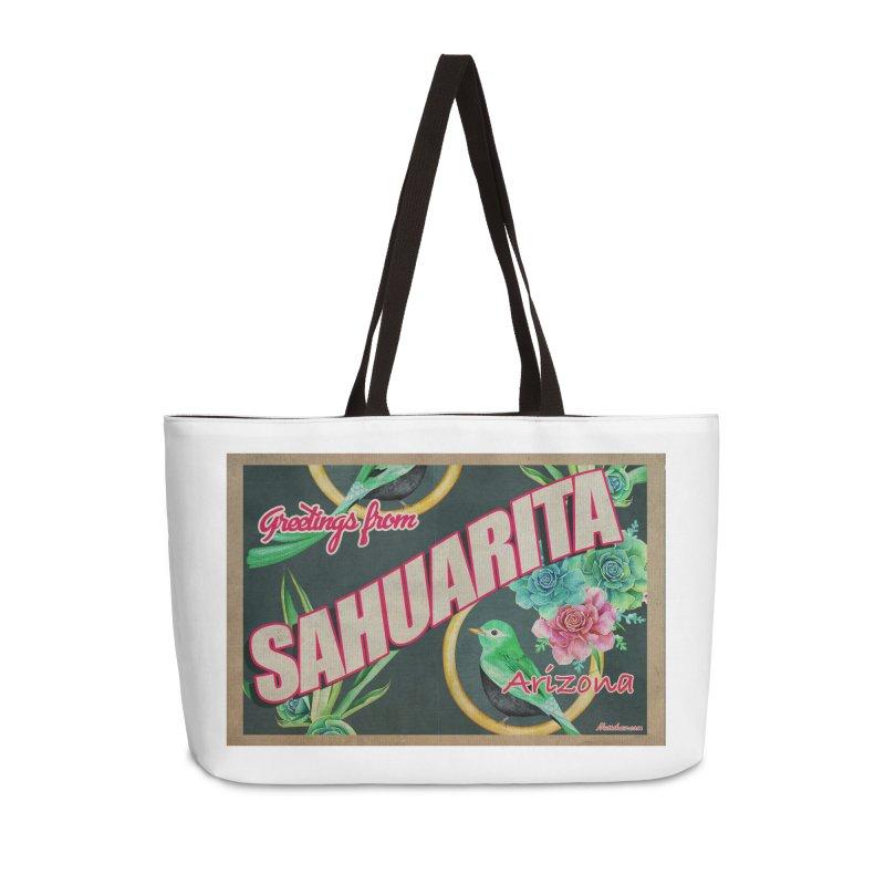 Sahuarita, AZ Accessories Weekender Bag Bag by Nuttshaw Studios