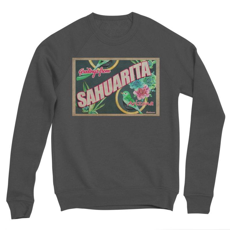 Sahuarita, AZ Men's Sponge Fleece Sweatshirt by Nuttshaw Studios