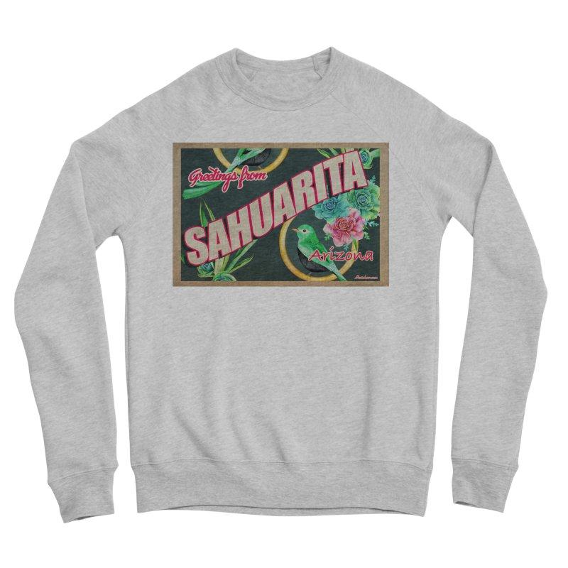 Sahuarita, AZ Women's Sponge Fleece Sweatshirt by Nuttshaw Studios