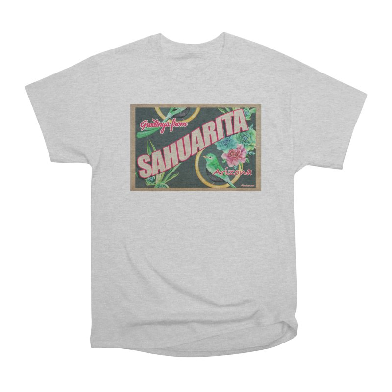 Sahuarita, AZ Women's Heavyweight Unisex T-Shirt by Nuttshaw Studios