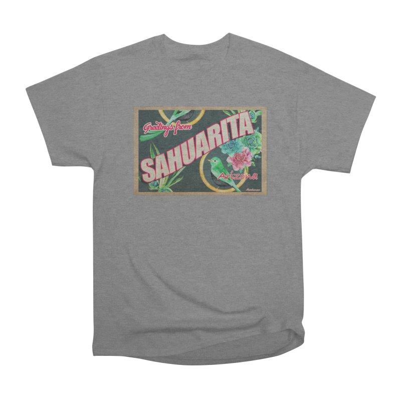 Sahuarita, AZ Men's Heavyweight T-Shirt by Nuttshaw Studios
