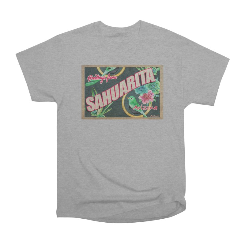 Sahuarita, AZ Men's Heavyweight T-Shirt by Nuttshaw Studios