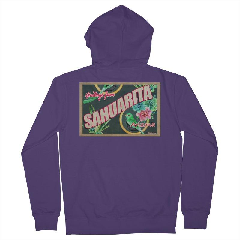 Sahuarita, AZ Women's Zip-Up Hoody by Nuttshaw Studios