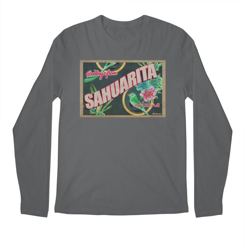 Sahuarita, AZ Men's Longsleeve T-Shirt by Nuttshaw Studios
