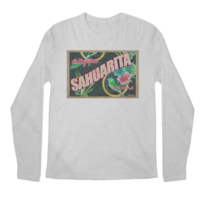 Sahuarita, AZ Men's Regular Longsleeve T-Shirt by Nuttshaw Studios