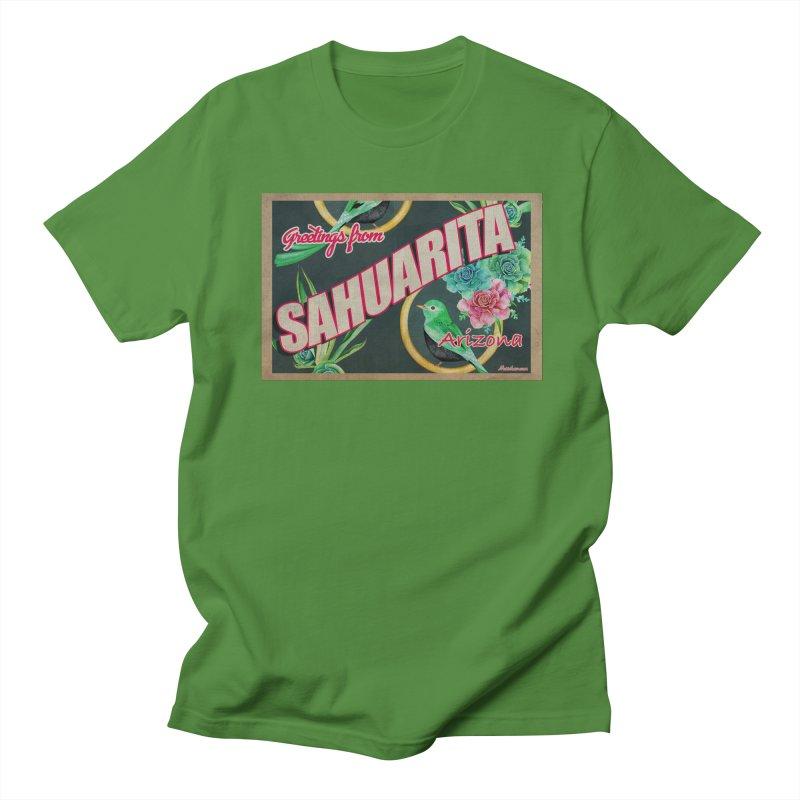 Sahuarita, AZ Men's T-Shirt by Nuttshaw Studios