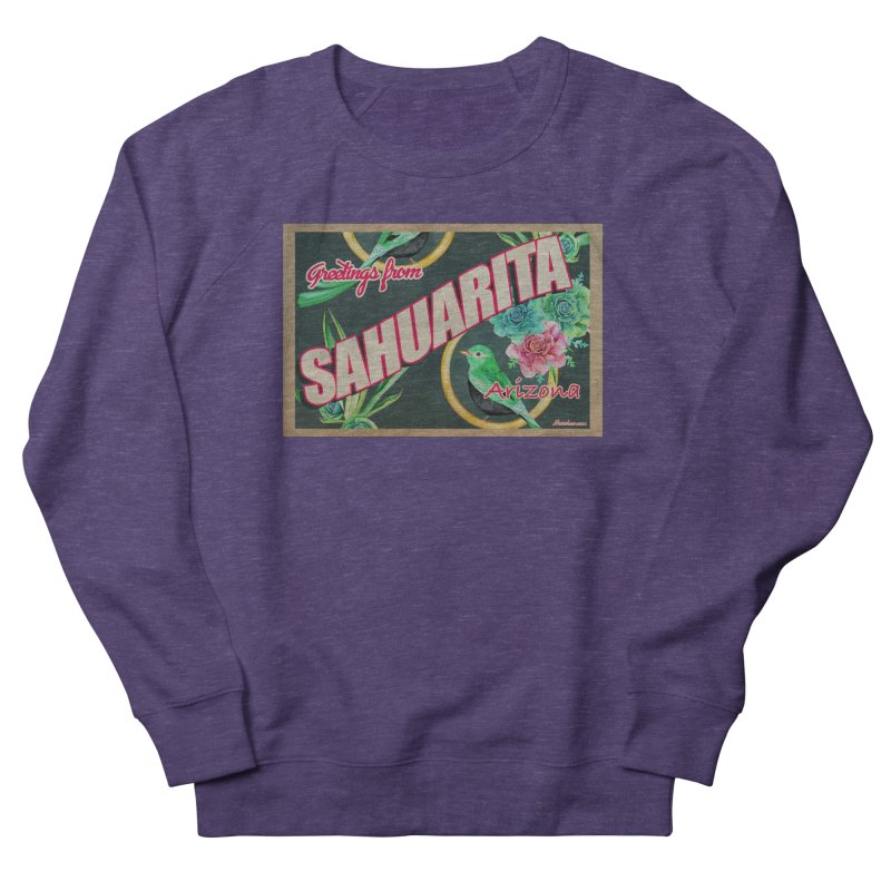 Sahuarita, AZ Women's French Terry Sweatshirt by Nuttshaw Studios