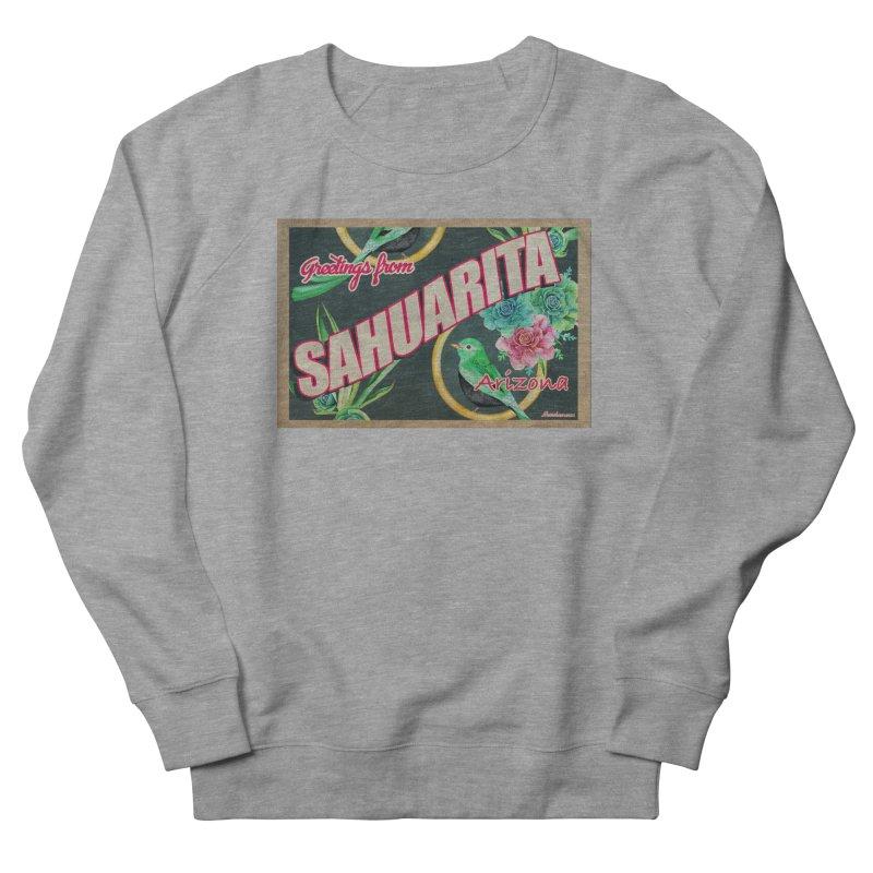 Sahuarita, AZ Men's French Terry Sweatshirt by Nuttshaw Studios