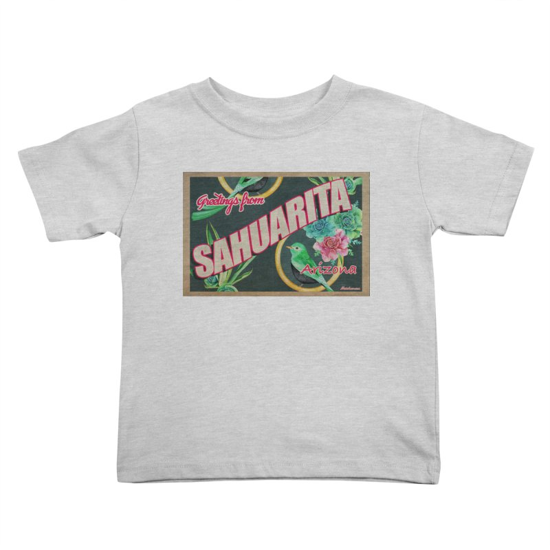 Sahuarita, AZ Kids Toddler T-Shirt by Nuttshaw Studios